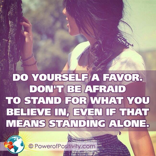 Standing for beliefs