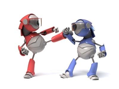 robots-fighting