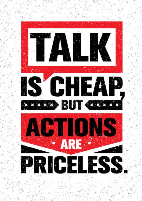 talk-cheap-actions-priceless-inspiring-creative-motivation-quote-vector-typography-banner-design-concept-grunge-86613258